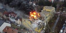 Platzverbot und Spendenaktion nach Hausexplosion