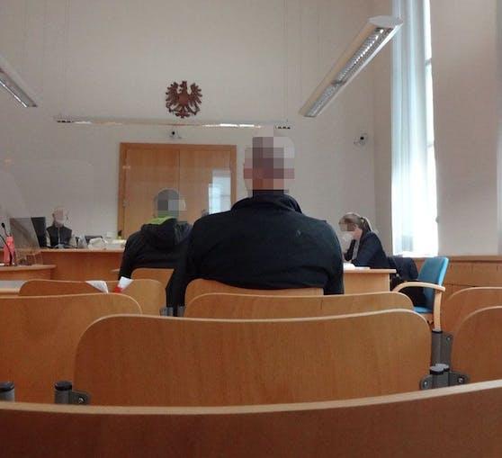 Der Dieb vor Gericht