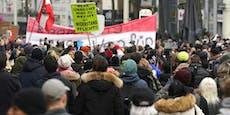 Corona-Gegner planen Samstag Mega-Demos in Wien