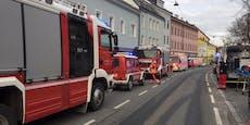 Brand in Wien-Liesing: Haus evakuiert, 13 Verletzte