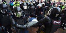 Mehr als 1.000 Festnahmen bei Pro-Nawalny-Demos