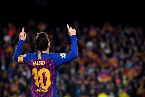 Lionel Messi: Traum-Freistoß für Barcelona