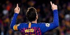 Enthüllt! Die unfassbaren Zahlen im Messi-Vertrag