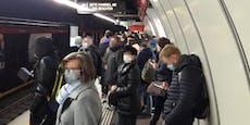 Öffi-Chaos in Wien auf der U1-Linie