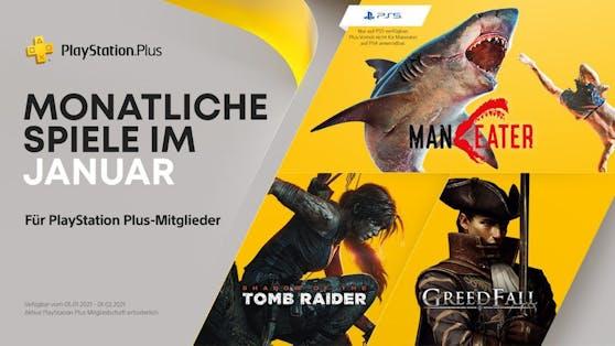 PlayStation Plus-Titel im Januar 2021 für PS4 und PS5