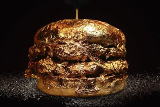 Diesen Goldburger gibt es derzeit bei einer kolumbianischen Fast-Food-Kette um rund 48 Euro.