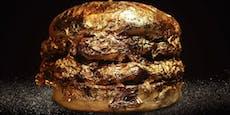 Restaurant serviert Burger in 24-karätigem Blattgold