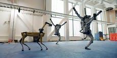 Tanzende Roboter werden im Internet zum Hit