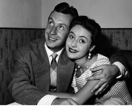 Caterina Valente und Peter Alexander - ein Traumpaar der 1950er- und 1960er-Jahre
