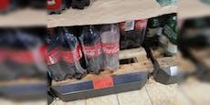 Wiener Supermarkt verkauft leeres Cola für 1,75 Euro