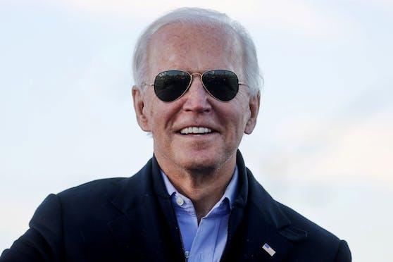 """""""Morgen kann ein neuer Tag für Amerika sein"""": Der gewählte US-Präsident Joe Biden. (4. Januar 2021)"""
