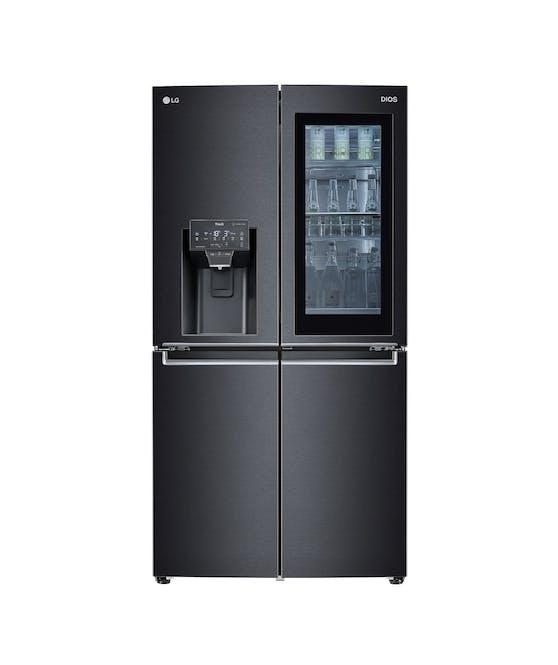 Die neuen InstaView-Kühlschränke von LG sind jetzt mit der UVnano-Technologie von LG ausgestattet.