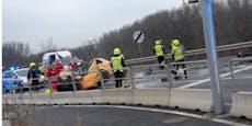 Zwei Tote bei schrecklichem Audi-Crash in Fischamend