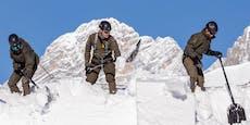 Meterhoher Schnee bringt Einsturzgefahr in Kärnten