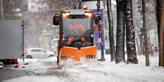 Laut Ubimet-Experten wird es am Mittwoch ab 04 Uhr in der Früh schneien.
