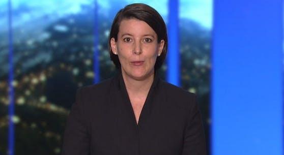 """Katharina Reich in der """"ZiB2""""."""