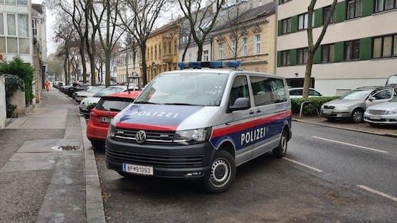 Polizei-Einsatz in Wien. Symbolbild