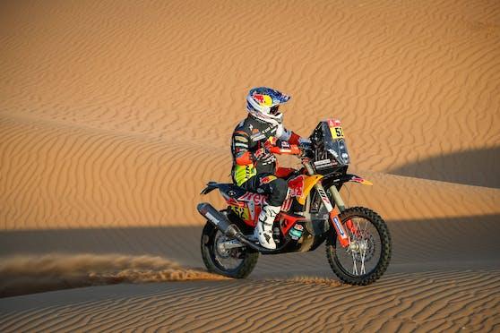 Matthias Walkner bei der Rallye Dakar.