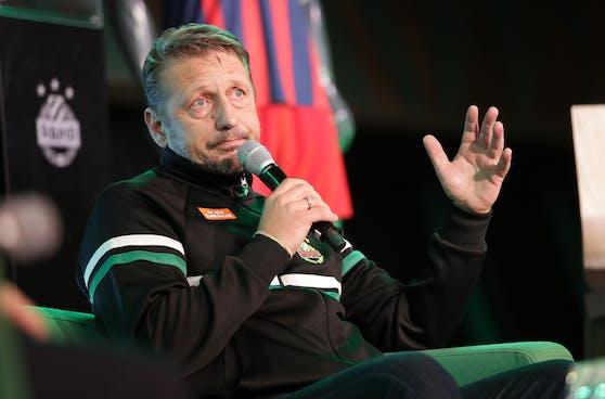 Rapids Geschäftsführer Sport, Zoran Barisic.