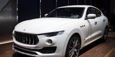 Mann wollte freiwillig in Haft, fuhr mit Maserati vor