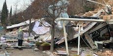 Hotel in Bozen von Steinlawine begraben