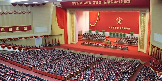 Parteitag in Nordkorea, Diktator Kim Jong-un sieht sich mit neuen Vorwürfen konrontiert.