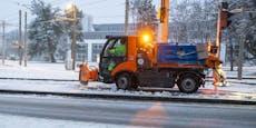 Fotos zeigen, wie Linz gegen den Schnee kämpft