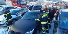 Kind am Semmering-Parkplatz in BMW eingesperrt