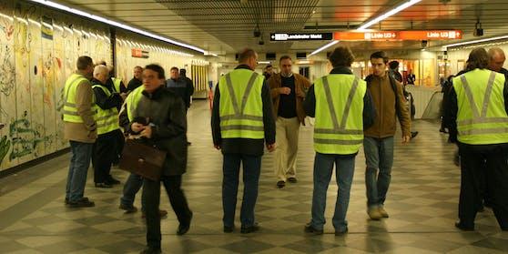 Fahrscheinkontrolle in Wien