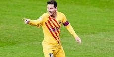 Doppelpack! Messi schießt Barca auf Platz 3