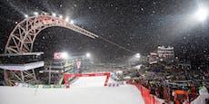 Keine Fans bei Ski-Spektakel in Kitz und Schladming