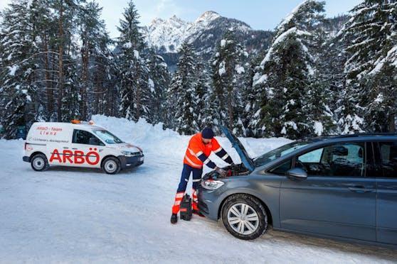 105.000 Mal waren die ARBÖ-Pannenfahrer 2020 österreichweit im Einsatz.