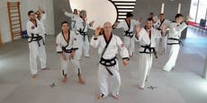 """Das haut rein! Kampfsportschule tanzt """"Jerusalema"""""""