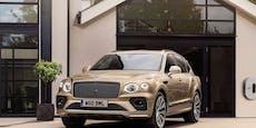 Bentley Bentayga kommt jetzt auch als Plug-in-Hybrid