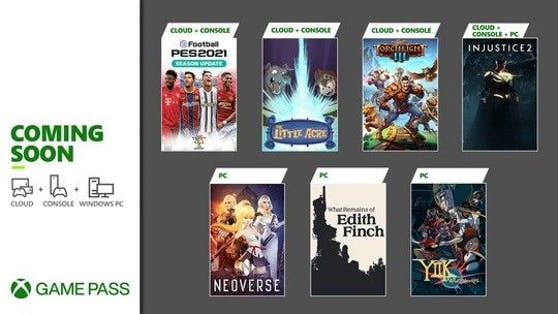 Xbox Game Pass: Highlights im Jänner.