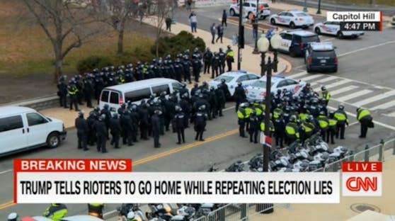 Die Nationalgarde wurde mobilisiert.