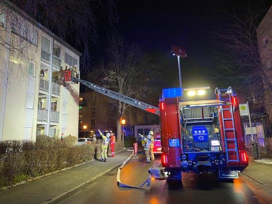 30 Mann der Freiwilligen Feuerwehr Schwaz waren im Einsatz.