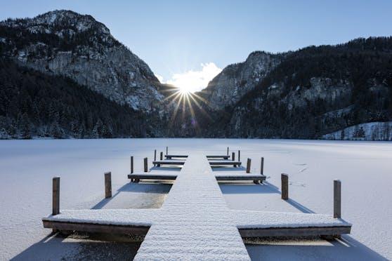 Das Wetter in Österreich bleibt winterlich.