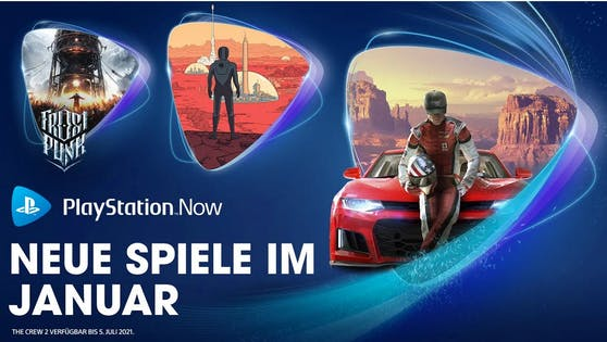 PlayStation Now-Spiele im Januar: The Crew 2, Surviving Mars und Frostpunk.