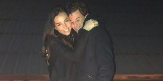 Dominic Thiem und Lili Paul-Roncalli posieren erstmals gemeinsam.