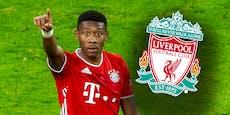 Dieses Gehalt bietet Liverpool ÖFB-Star David Alaba