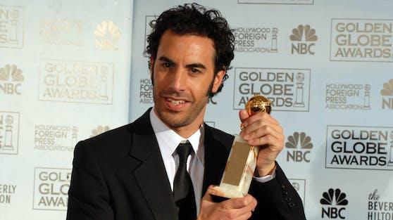 """Zwar brachte ihm seine """"Borat""""-Rolle einen Golden Globe ein, trotzdem will Sacha Baron Cohen nicht mehr in die Rolle des Kasachen schlüpfen."""