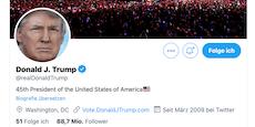Twitter und Facebook sperren Trumps Accounts