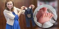 Alma Zadić ist Mama eines Buben geworden – das 1. Foto