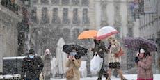 Spanien ruft höchste Schnee-Warnstufe aus