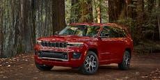 Weltpremiere für den neuen Jeep Grand Cherokee
