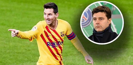 Mauricio Pochettino will Lionel Messi nach Paris holen.