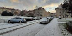 Schnee in Wien! Dieser Bezirk ist bereits weiß