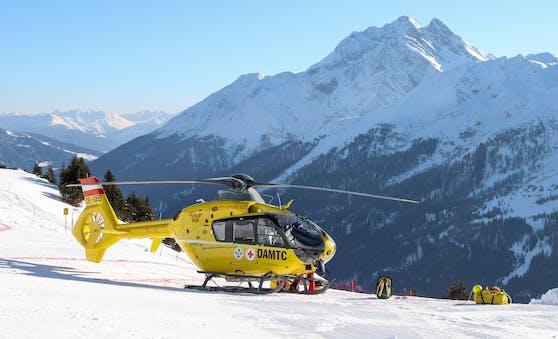 Der Hubschrauber musste Suter abtransportieren