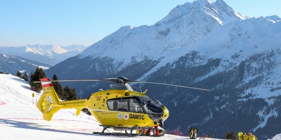 Der Hubschrauber musste diese Saison deutlich seltener starten.